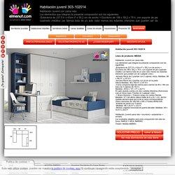 Habitación juvenil 303-102014