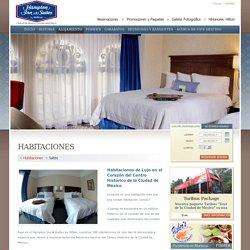 Habitaciones de lujo en el Centro Histórico Hampton Inn Suites
