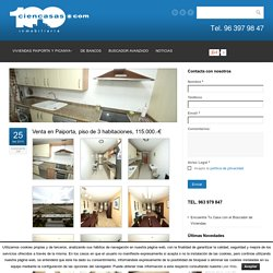 Venta en Paiporta, piso de 3 habitaciones, 115.000.-€ - Inmobiliaria Ciencasas