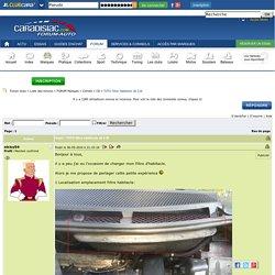 TUTO filtre habitacle c8 2.0i - C8 - Citroën