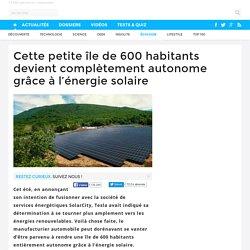 Cette petite île de 600 habitants devient complètement autonome grâce à l'énergie solaire