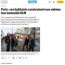 Paris : ces habitants construisent eux-mêmes leur immeuble HLM