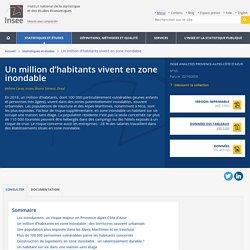Un million d'habitants vivent en zone inondable - Insee Analyses Provence-Alpes-Côte d'Azur - 65
