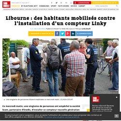 Libourne: des habitants mobilisés contre l'installation d'un compteur Linky - Sud Ouest.fr