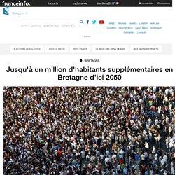 Jusqu'à un million d'habitants supplémentaires en Bretagne d'ici 2050