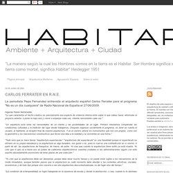 HABITAR: junio 2009