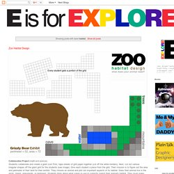 E is for Explore!: habitat