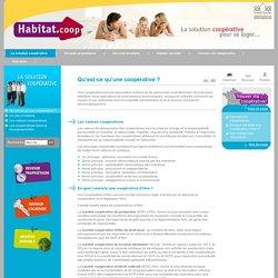 Habitat.coop - Qu'est-ce qu'une coopérative?