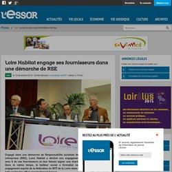 Loire Habitat engage ses fournisseurs dans une démarche de RSE