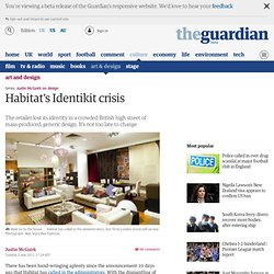 Habitat's Identikit crisis | Art and design