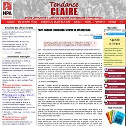 Paris Habitat : nettoyage, le bras de fer continue