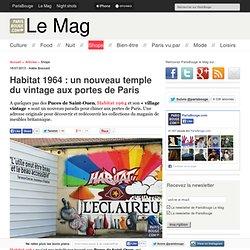 Habitat 1964 : un nouveau temple du vintage aux portes de Paris
