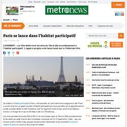 Paris se lance dans l'habitat participatif