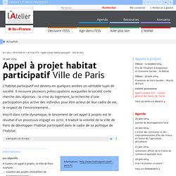 AàP habitat participatif - Ville de Paris