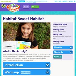 Habitat Sweet Habitat . PLUM LANDING