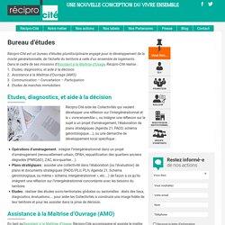 Bureau d'études Habitat et Urbanisme - Récipro-Cité