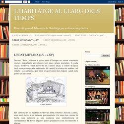 L'HABITATGE AL LLARG DELS TEMPS: L'EDAT MITJANA (s.V - s.XV)