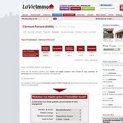 Taxe d'habitation - Clermont-Ferrand