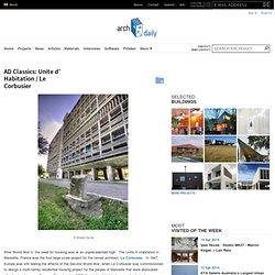 Unite d' Habitation / Le Corbusier