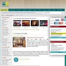 10 habitations à 10 000€ - Choisir son type de construction, maison petit prix, maison pas cher