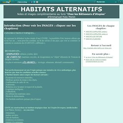 HABITATS ALTERNATIFS
