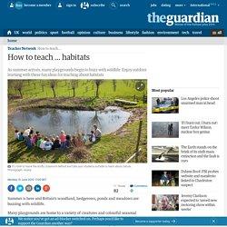 How to teach … habitats