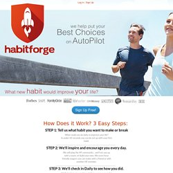 habitforge - Forge new habits. Change your life!