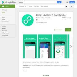 HabitHub Habit & Goal Tracker