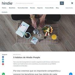 5 hábitos de Hindie PeopleHindie Teashop