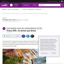 Les habits neuf du colonialisme (2/4) : Franc CFA : la devise qui divise