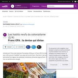 Les habits neufs du colonialisme (2/4) : Franc CFA : la devise qui divise