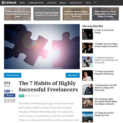 The 7 Habits of Highly Successful Freelancers