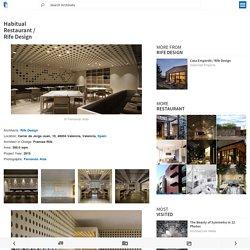 Habitual Restaurant / Rife Design