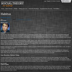Social Theory Rewired