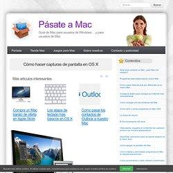Cómo hacer capturas de pantalla en OS X