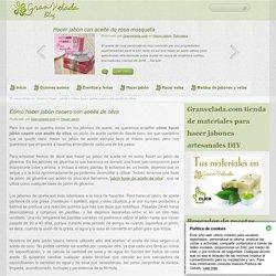 Cómo hacer jabon casero con aceite de oliva y coco