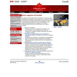 Hacer negocios con Canadá
