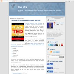 Blue chip: Cómo hacer una gran presentación TED según Akash Karia