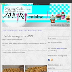 Hachi camarguais - WW - Mymy Cuisine...