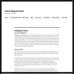 Hack Archives - Clash Royale Hack