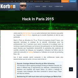 Hack In Paris 2015