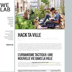 Hack ta ville - We Lab