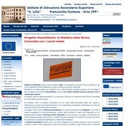 """Istituto di Istruzione Secondaria Superiore """"V. Lilla""""     Francavilla Fontana - Oria (BR)"""