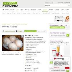 Hackao : la recette