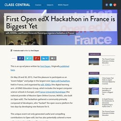 First Open edX Hackathon in France is Biggest Yet