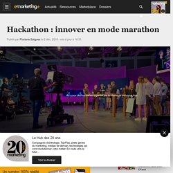 Hackathon : innover en mode marathon
