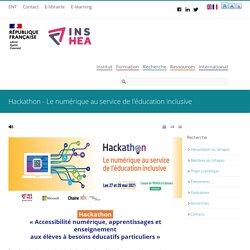 Hackathon - Le numérique au service de l'éducation inclusive