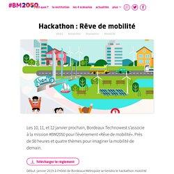 Hackathon : Rêve de mobilité