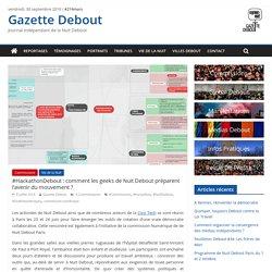 #HackathonDebout : comment les geeks de Nuit Debout préparent l'avenir du mouvement ? - Gazette Debout