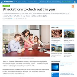 8 hackathons to check out this year